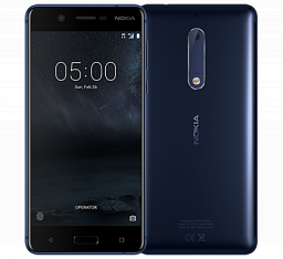 Nokia 5 Dual Tempered Blue_353394090541400