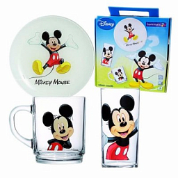 Luminarc Disney Mickey colors 3PCS set L2124