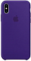 Çexol Apple Silicone Case for Iphone XS Max Violet - Maxi.az