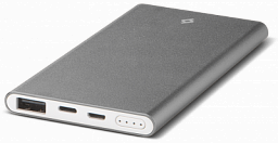 T-tec AlumiSlim S Universal Mobile Charger 10.000 mah Space Grey