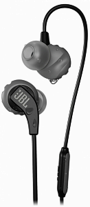Qulaqlıq JBL Endurance RUN Sweatproof Wired Sports In-Ear Headphones Black - Maxi.az