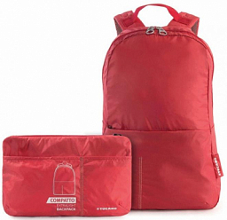 Tucano Backpack Compatto Xl  Packable Red