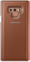 Samsung Clear View Standing Cover N960 Brown