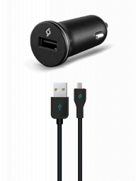 Ttec Compact USB In-Car Charger, 1A, incl. Micro USB Car