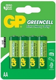GP battery Greencell AA(4) 15G-2UE4