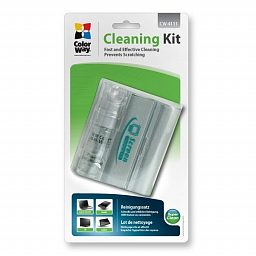 ColorWay cleaner set, microfiber and spray CW-4111