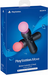 Playstation 4 Move Controller Black (2-Pack)