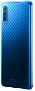 Çexol Samsung Gradation Cover A7 (2018) Light Blue - Maxi.az
