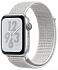 Apple Watch Nike+ Series 4 44mm Silver Aluminum Case with Summit White Nike Sport Loop (MU7H2)