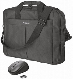 "TRUST PRIMO 16"" BAG WITH WIRELESS MOUSE(21685)"