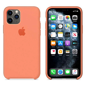 Çexol Apple Silicone Case for Iphone 11 Pro Max Peach - Maxi.az