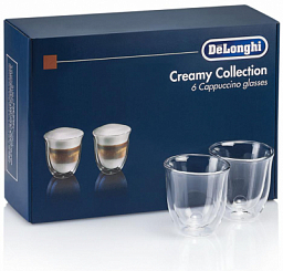 DeLonghi Creamy Collection 6 Glasses (DLSC301)