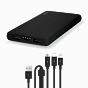 Ttec PowerSlim S Trio 10.000mAh Universal Mobile Charger Black