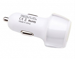 Nilkin Car Charger - Jelly White