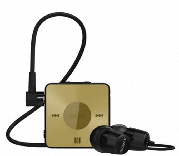 Qarnitura SONY SBH20 black gold - Maxi.az