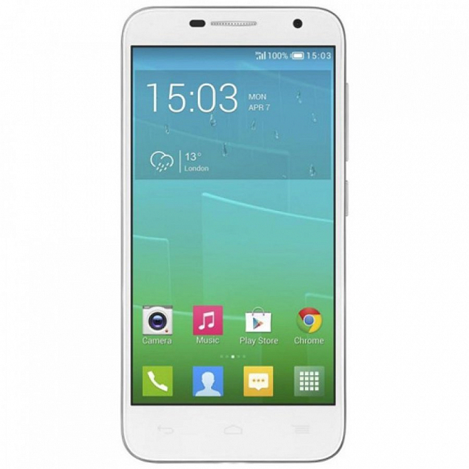Telefon Alcatel One Touch Idol2 mini White Slate - Maxi.az