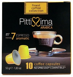 Pitti Caffe Capsul Arabica For Nespresso Machine