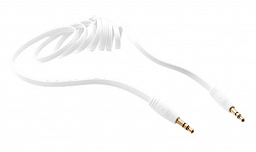 Trust URBAN Flat Audio Cable 1m - white (20490)