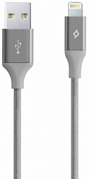 Ttec Alumi Cable for iphone Grey