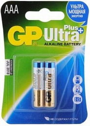 GP Ultra Plus Alkaline AAA(2) 24AUP-2UE2